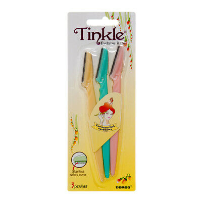 TINKLE EYEBROW RAZOR Face Eye Brow Hair Removal Trimmer Blade Shaver