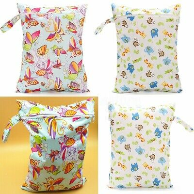 Reusable Mummy Baby Nappy Diaper Changing Storage Carry Bag Zipper Pouch Holder