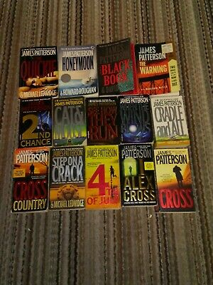 JAMES PATTERSON lot of 14 paperbacks