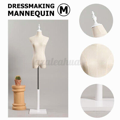 M-Size Female Mannequin Half Model Dressmaker Display Torso Tailor