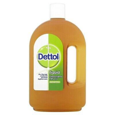 Dettol Liquid Chloroxylenol 4.8% Antiseptic Disinfectant, 25 Oz 750ml