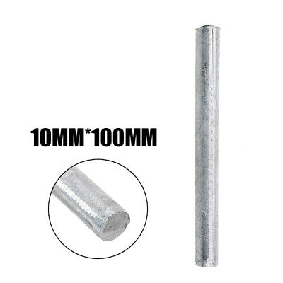 """High Purity Zn 99.95% Zinc Rods Solid Round Bar 0.4"""" Anode Electroplating"""