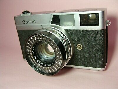 🍀Exc🍀Canon Canonet 35mm Rangefinder Camera with 45mm F1.9 Lens From JAPAN #99