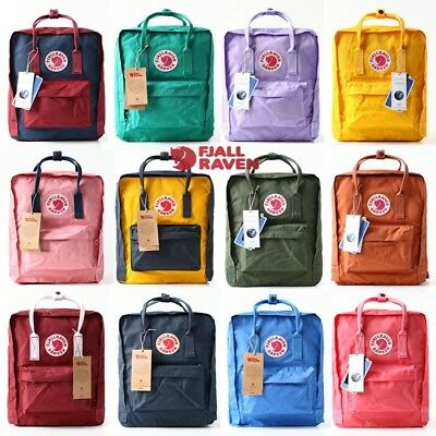 Fjallraven Kanken Backpack Travel Shoulder School Bag Brand 16L Unisex New