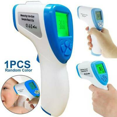 LCD Digital Thermometer Infrared Adult Baby Forehead Non-touch Temperature Gun