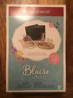 """American Girl Blaire/'s farmhouse restaurant placemat poster NEW 18/"""" doll"""