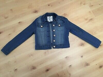 Girls Denim Jacket Age 9-10 Years
