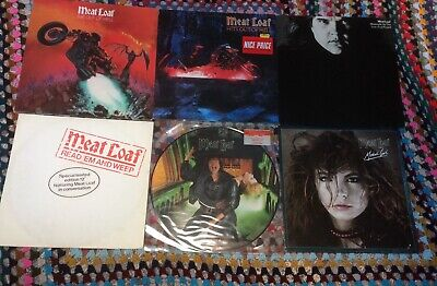 Meat Loaf: Bat Out Of Hell, Midnight At The Lost & Found, Modern Girl, Hits Out