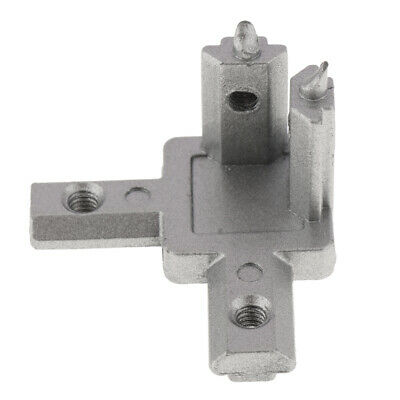 T-slot Aluminum L 90 Deg Profile Shape 3-Way Inside Corner Connector 2020 EU