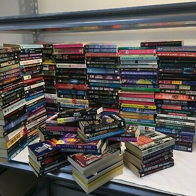 Lot of 20 Mystery Paperback Books Suspense Thriller Crime Murder MIX popular
