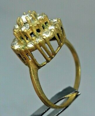 Ancient Rare Ring Bronze Roman Old Ring Authentic Artifact