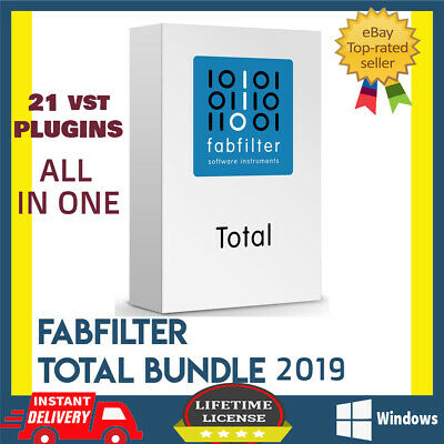Fabfilter Total Bundle VST For Any DAW✅Full Version Windows🔥100% Licenses Works