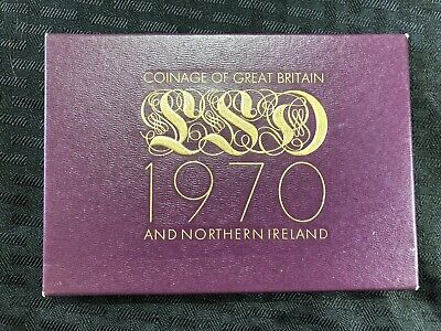 1970 Great Britain 8 Coin Proof Set Lot#B779 (4 Sets Available) (1 Set Only)
