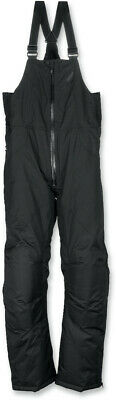 Arctiva Adult Pivot Insulated Snowmobile Pants Snow Bibs Black 4XL