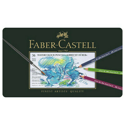 Faber-Castell Usa 117536 Albrecht Durer Artist Watercolor Pencil Metal Tin Of 36