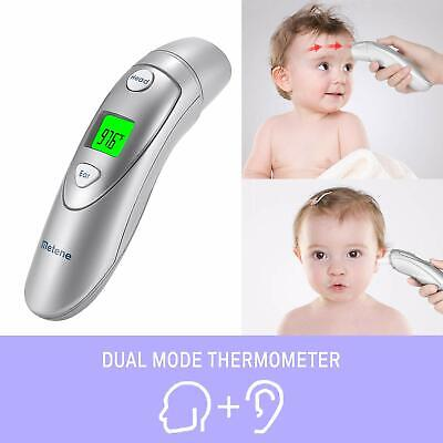 METENE Forehead and Ear Contact Thermometer