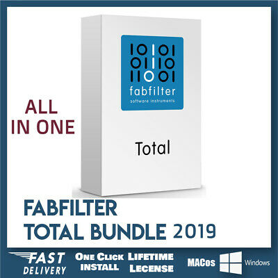 Fabfilter Total Bundle VST v2019✅Last Full Version🔥100% Lifetime Licenses Works
