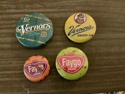 Vernors And Faygo Buttons