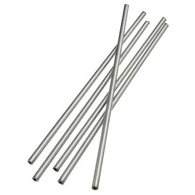 304 Stainless Steel Capillary Tube Pipe OD 6mm X ID 4mm Length 250mm