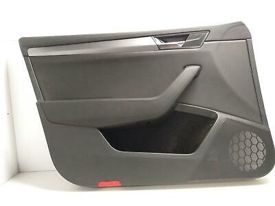 2017 Skoda Superb Left Front Door Card Panel Trim