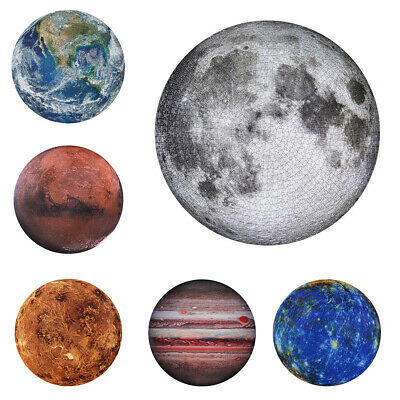 The Moon Puzzle 1000 Pieces Jigsaw Puzzle Kids Adult Planets Maps Puzzles New^