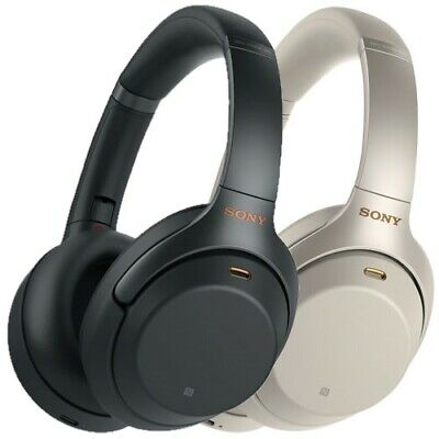 Sony WH-1000XM3 Wireless Noise Cancelling Headphones Black/Silver