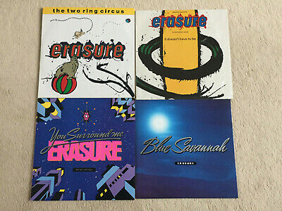 4 Maxi-Single- Erasure-You Surround Me,Blue Savannah,Two Ring Circus, Have to Be