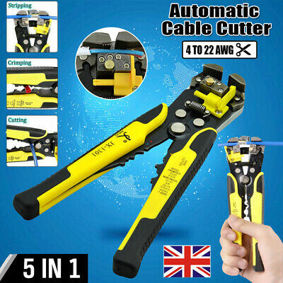 Adjustable Automatic Wire/Cable Cutter/Stripper Crimping/Crimper Plier Hand Tool