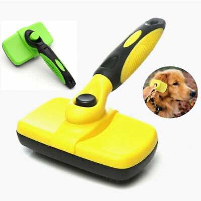 New Cleaning Pet Dog Cat Slicker Brush Grooming For Medium And Long Hair Pets