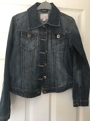 Girls Denim Jacket Age 11-12yrs From Next Excellent Condition