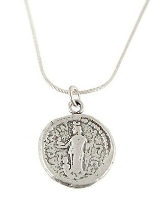 Roman coin period 153 Caligula Authentic ancient 925 sterling silver necklace RN