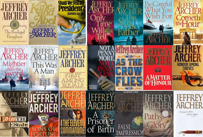 Jeffrey Archer 23 AUDIOBOOKS Collection Unabridged(MP3)📧⚡Email Delivery(10s)⚡📧