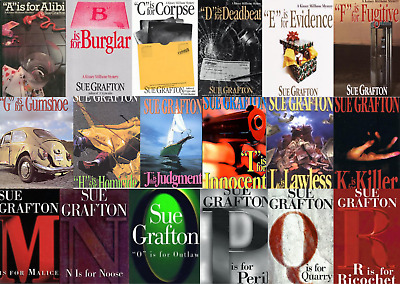 Sue Grafton Audiobooks Collection A - X MP3 Unabridged📧⚡Email Delivery(10s)⚡📧