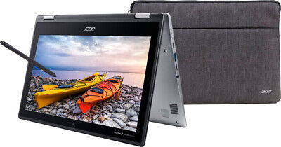 """NEW Acer Chromebook Spin 11.6"""" HD Touch Intel N3350 4GB 32GB eMMC + Sleeve + Pen"""