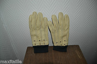 Pair Glove RACER Leather Ski Motorcycle New S/7 Glove Gloves
