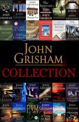 John Grisham 33-AudioBook-Collection(MP3)📧⚡Email Delivery(10s)⚡📧