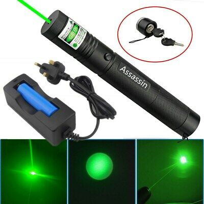 1mW 532nm Rechargeable Green Laser Pointer Teaching Laser Pen+Battery+Charger