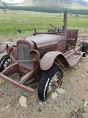 antique ford truck