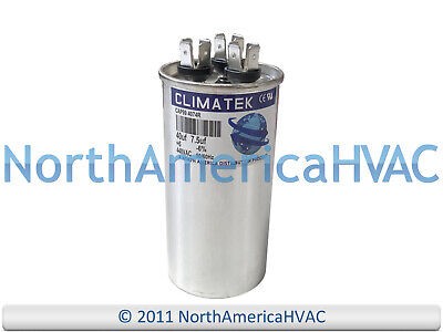GE Genteq Capacitor Round 45//7.5 uf MFD 370 Volt 97F9969 7.5 MFD at 370 Volts Replaces Old Z97F9969, 97F9969BX, 97F9969BZ2, 97F9969BZ3 45