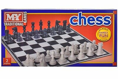 Chess or Snake&Ladders or Draughts or Ludo Traditional Board Game Family