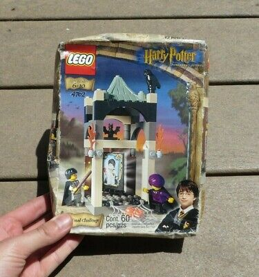 Lego~4702~Harry Potter~The Final Challenge~60 Pcs~2 Minifigs~New Sealed Box~2001