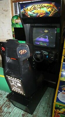 CRUIS'N EXOTICA SIT DOWN DRIVING ARCADE VIDEO GAME SHAPE Shipping Available