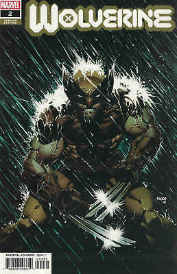 Wolverine #2 1:25 David Finch Variant Marvel 2020