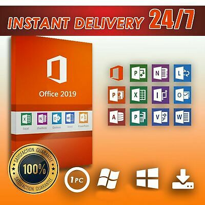Microsoft office 2019 Professional plus MS Office pro plus 2019 INSTANT DELIVERY