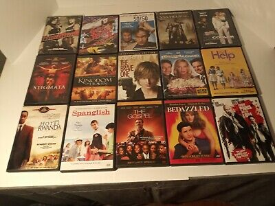 LOT #2 A-TITLE MOVIES $1.75 FREE BONUS DVD WHEN U BUY 5 over 200 to choose from!