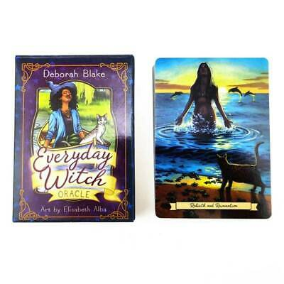 Tarot Card Everyday Witch Playing Card Guidance Divination Fate Board Game Deck