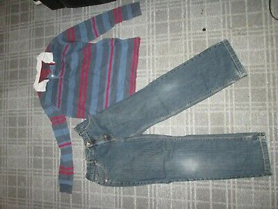 MARKS&SPENCER-boys BUNDLE AGE 12-13 MIXED items CLOTHES,MULTI,JEANS T-SHIRT TOP