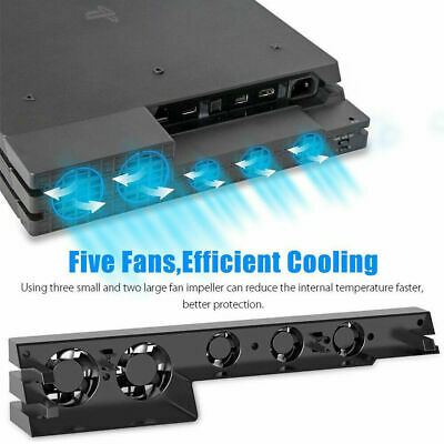 5fan For PS4 Pro Game Accessories Play Station4 Host Cooling Fan External Cooler