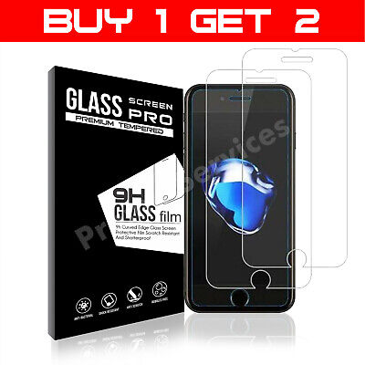 For Apple iPhone 7 Tempered Glass Screen Protector  - 100% Genuine
