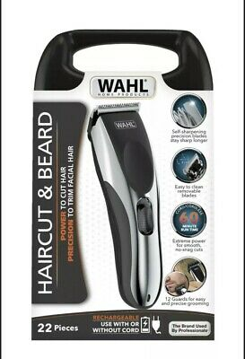 NEW Wahl Haircut Beard Clippers Cord Rechargeable Cordless Hair Cut Trimmer